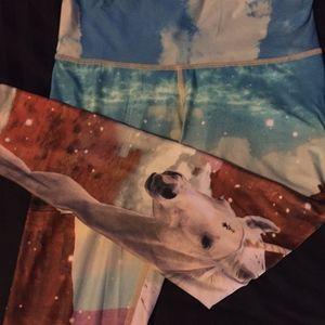 Teeki Yoga Pants Unicorn Wrangler